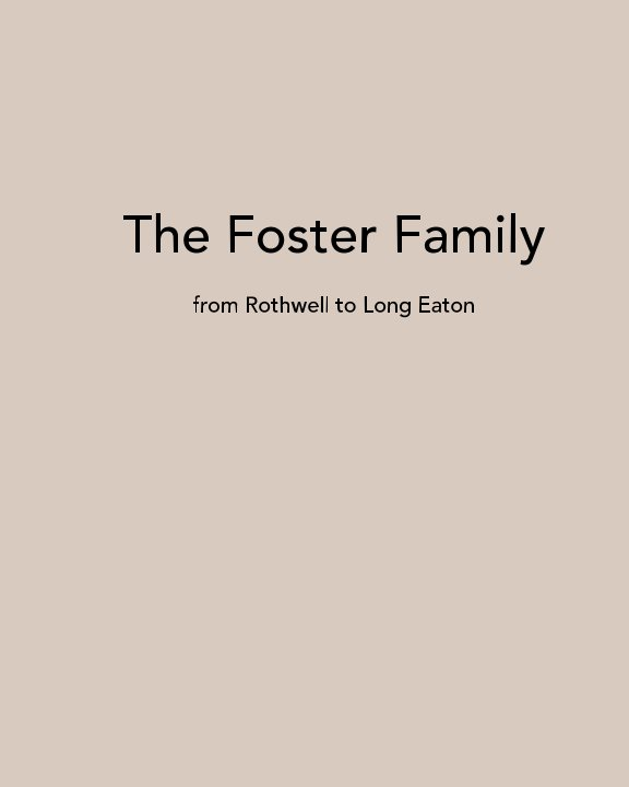 View The Foster Family by Ella Bowers