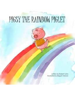 Pigsy the Rainbow Piglet book cover