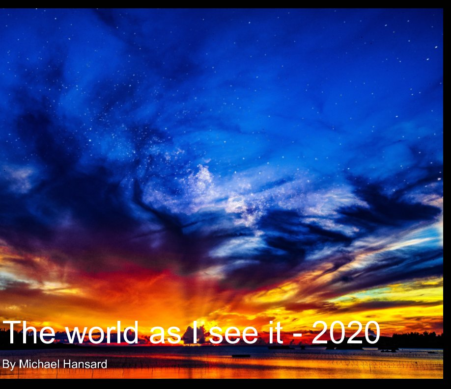 View The world as I see it - 2020 by Michael Hansard
