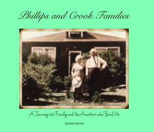 Phillips and Crook Families book cover