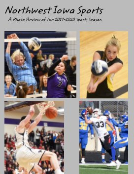 Northwest Iowa Sports 2019-2020 book cover