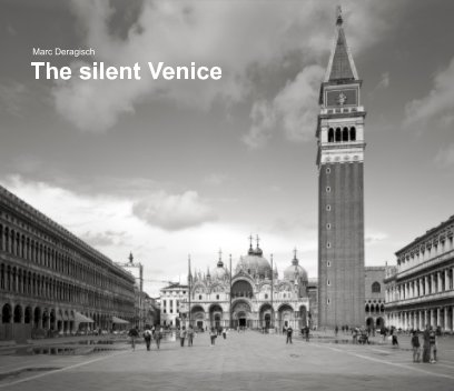 The silent Venice book cover