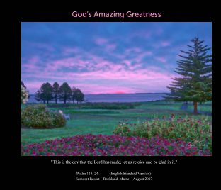 God's Amazing Greatness book cover