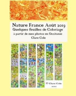 Nature France Août 2019: Quelques feuilles de Coloriage book cover