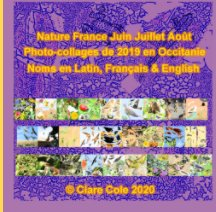 Nature France Summer Photo-Collages 2019 book cover