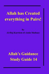 Allah has Created everything in Pairs! book cover