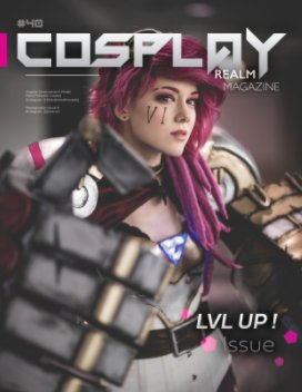 Cosplay Realm Magazine No. 40 book cover