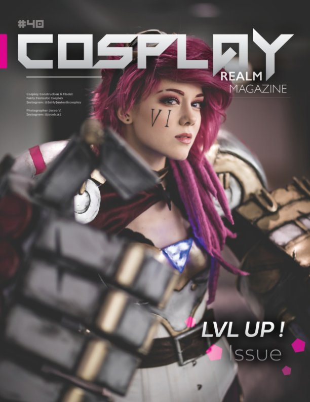 View Cosplay Realm Magazine No. 40 by Emily Rey, Aesthel