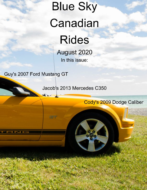 Ver Blue Sky Canadian rides - August 2020 por Marie Dempsey