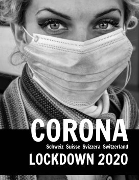 Corona in der Schweiz 2020 book cover