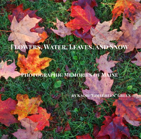 View Flowers, Water, Leaves, and Snow - Photographic Memories of Maine by Kaori Green