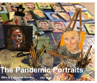 The Pandemic Portraits book cover