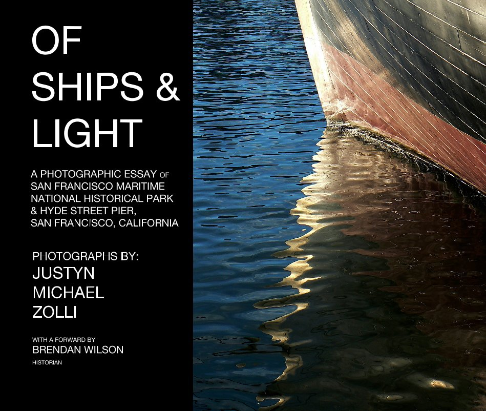 View Of Ships and Light by JUSTYN MICHAEL ZOLLI