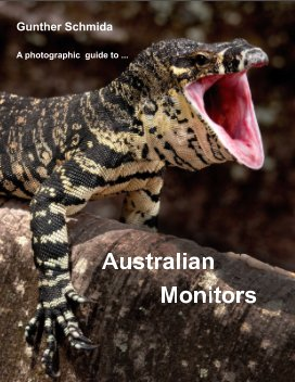 A photographic guide to Australian Monitors. book cover