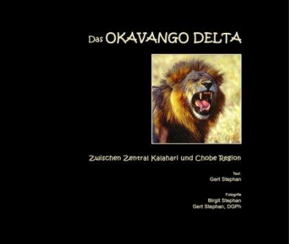 Das OKAWANGO DELTA book cover
