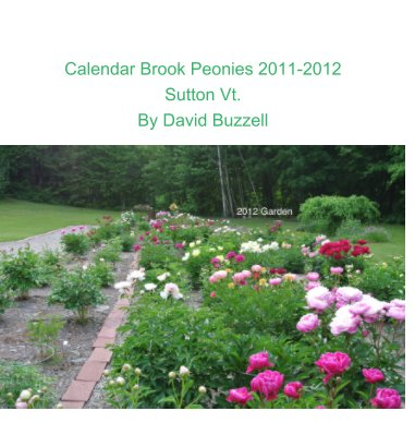 Calendar Brook Peonies 2011-2012 book cover
