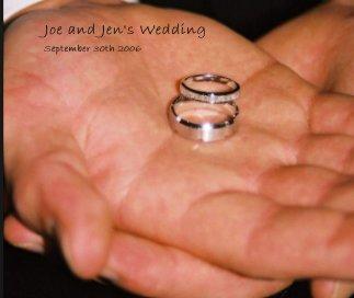 Joe and Jen's Wedding book cover