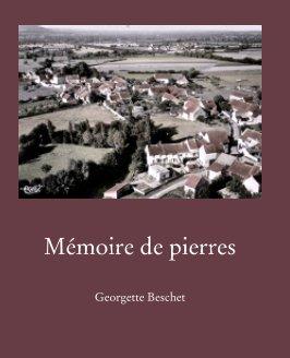 Mémoire de pierres book cover