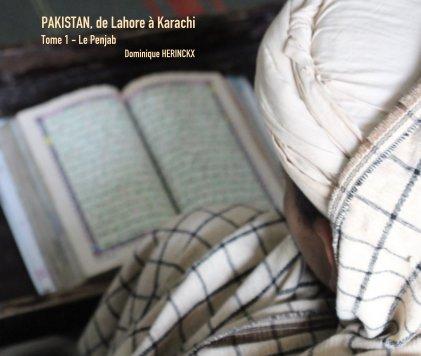 PAKISTAN, de Lahore à Karachi book cover