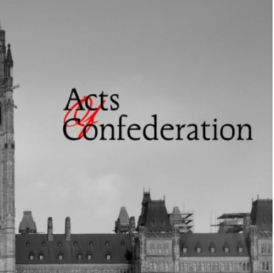 Acts of Confederation book cover