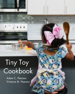 Tiny Toy Cookbook book cover
