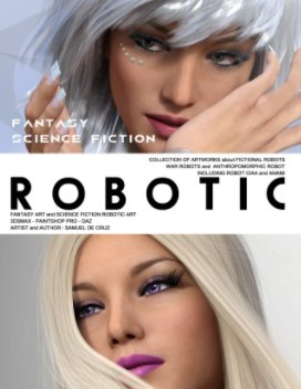 Robotic book cover