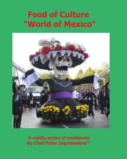 """Food of Culture """"World of Mexico"""" book cover"""
