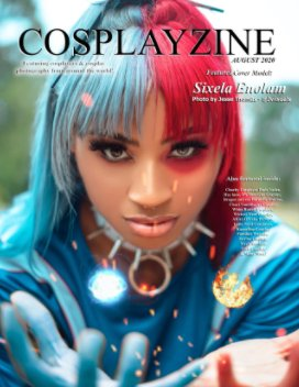 CosplayZine August 2020 Issue book cover
