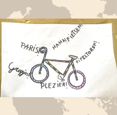 View 2020 Met de fiets naar Parijs by Chris Fagard