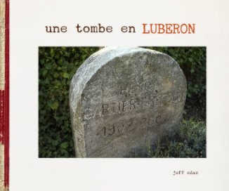 une tombe en Luberon book cover