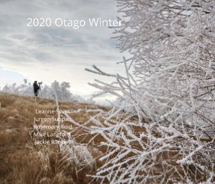 2020 Otago Winter Landscapes book cover