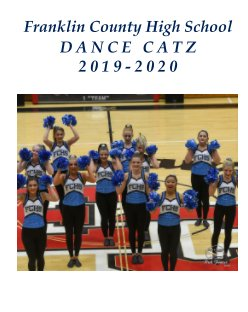 "Franklin County High School ""Dance Catz"" book cover"