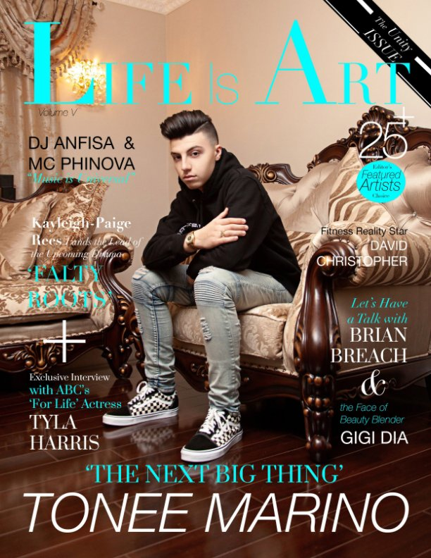 View Life Is Art Magazine by LIA