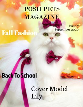 Posh Pets  Magazine Issue7 book cover