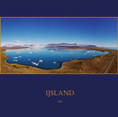IJsland 2020 book cover