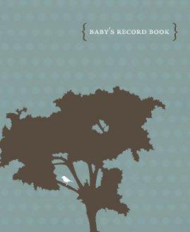 Baby Boy's Record Book book cover