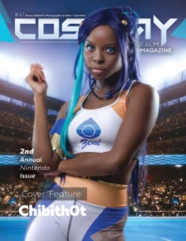 Cosplay Realm Magazine No. 41 book cover