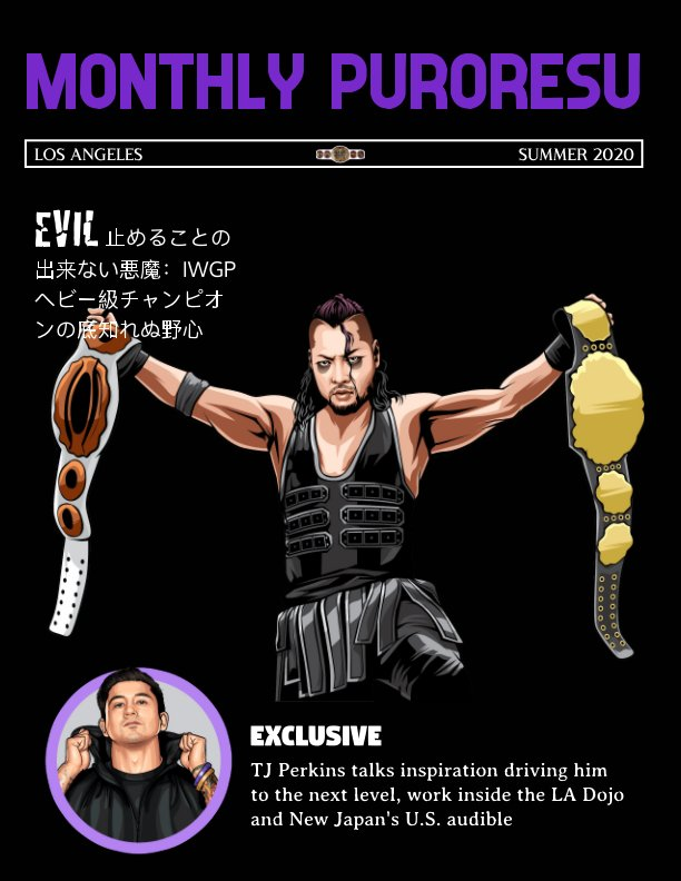 View Monthly Puroresu by Thom Fain
