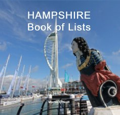HAMPSHIRE Book of Lists book cover