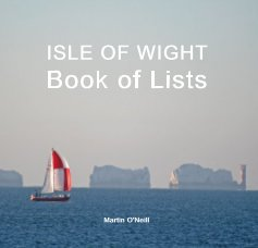 ISLE OF WIGHT Book of Lists book cover