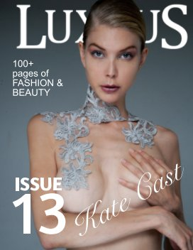 luxxury mag issue 13 book cover