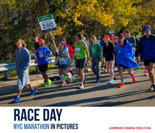 Race Day / NYC Marathon in Pictures book cover
