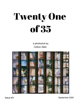Twenty One of 35 #4 book cover