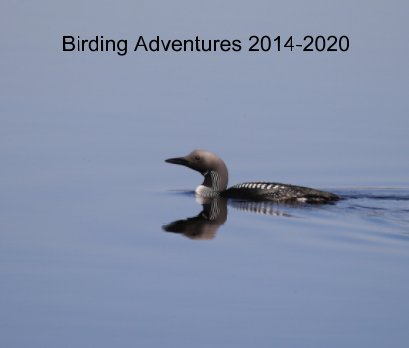 Birding Adventures 2014-2020 book cover