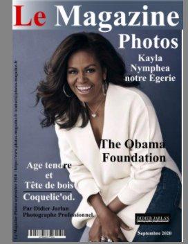 Le Magazine photos de septembre Fondation Obama book cover