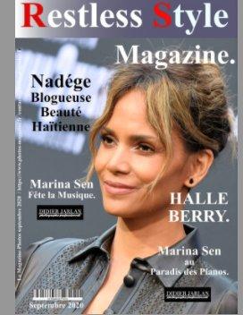 Restless Style Magazine de Septembre 2020 avec Halle Berry book cover