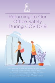 Returning To Our Office Safely During COVID-19 book cover