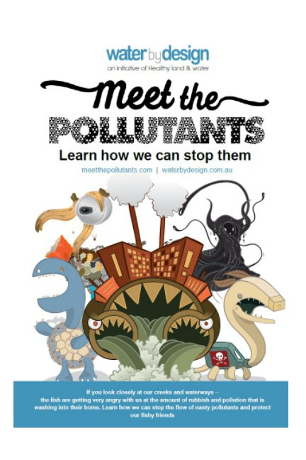 View Meet the Pollutants - Colouring in by Water by Design