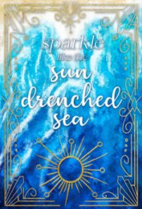 Sparkle Like the Sun Drenched Sea Bullet Journal book cover