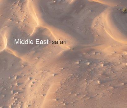 Middle East safari book cover